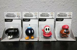 Lot of 4 World of Nintendo Super Mario Bros Collectible Figures. I BUNDLE AMAZING DEALS SEE MY PG FOR MORE MARIO ITEMS.. for Sale in Puyallup, WA