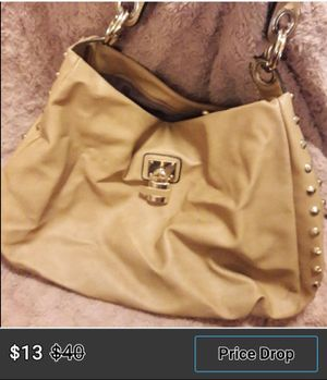 Tab or nude studded hobo bag for Sale in Las Vegas, NV