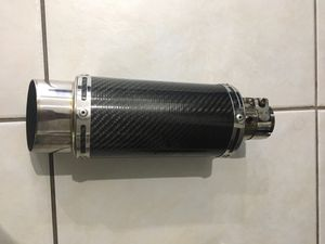 Delkevic Universal motorcycle muffler w/baffle for Sale in Tamarac, FL