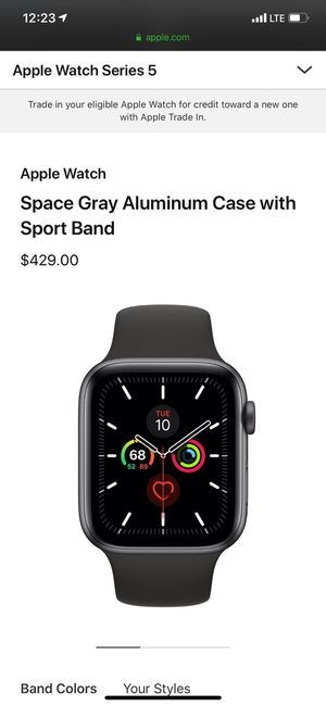 Apple Watch series 5 44mm for Sale in Katy, TX