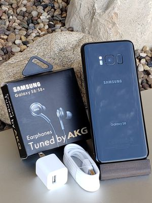 Galaxy S8 64GB Clean Unlocked T-Mobile Metro AT&T Cricket Sprint Boost Verizon Telcel Black $280 or best reasonable offer NO low offers 🚫 for Sale in East Los Angeles, CA