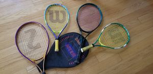 KIDS TENNIS RACKETS for Sale in Placentia, CA