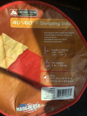 Sleeping Bag for Sale in Billerica, MA