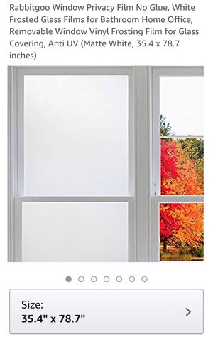 Minimalist UV cling FROSTED window FILM for Sale in Issaquah, WA