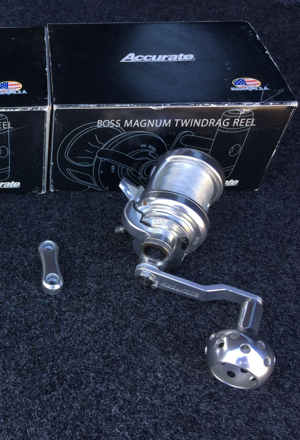 Accurate Boss Magnum Twin-Drag B-270C Fishing Reel