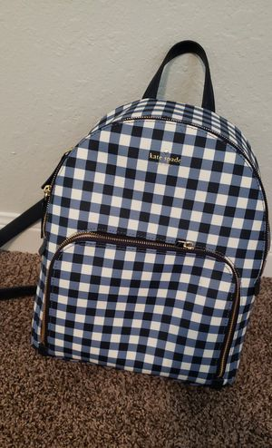 Kate Spade gingham backpack for Sale in Houston, TX