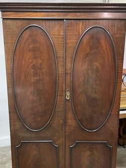 Antique Wood Armoire for Sale in Los Angeles,  CA