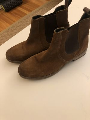 Crevo men's leather brown size 10.5 ankle boots for Sale in Seattle, WA