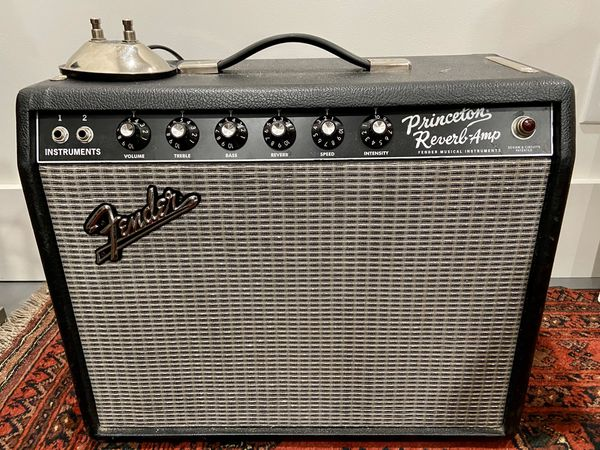 Fender '65 Princeton Reverb Reissue Guitar Amp Amplifier