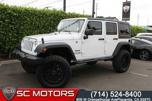 2018 Jeep Wrangler JK Unlimited for Sale in Placentia, CA