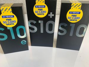 Samsung S10e - S10 - S10+- Unlocked for any carrier - 128 GB - Hablamos Español for Sale in Miami, FL