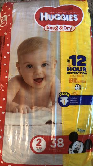 Pampers size 2 for Sale in Arlington, TX