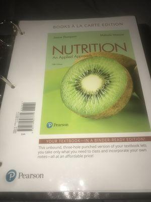 Nutrition an applied approach for Sale in Casa Grande, AZ