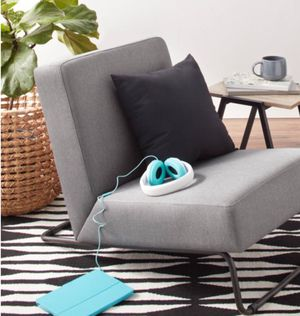 New!! Chair, kickstand chair, relaxing chair, gray for Sale in Phoenix, AZ