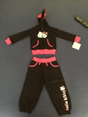 New 2t Hello kitty sweatsuit for Sale in Vallejo, CA