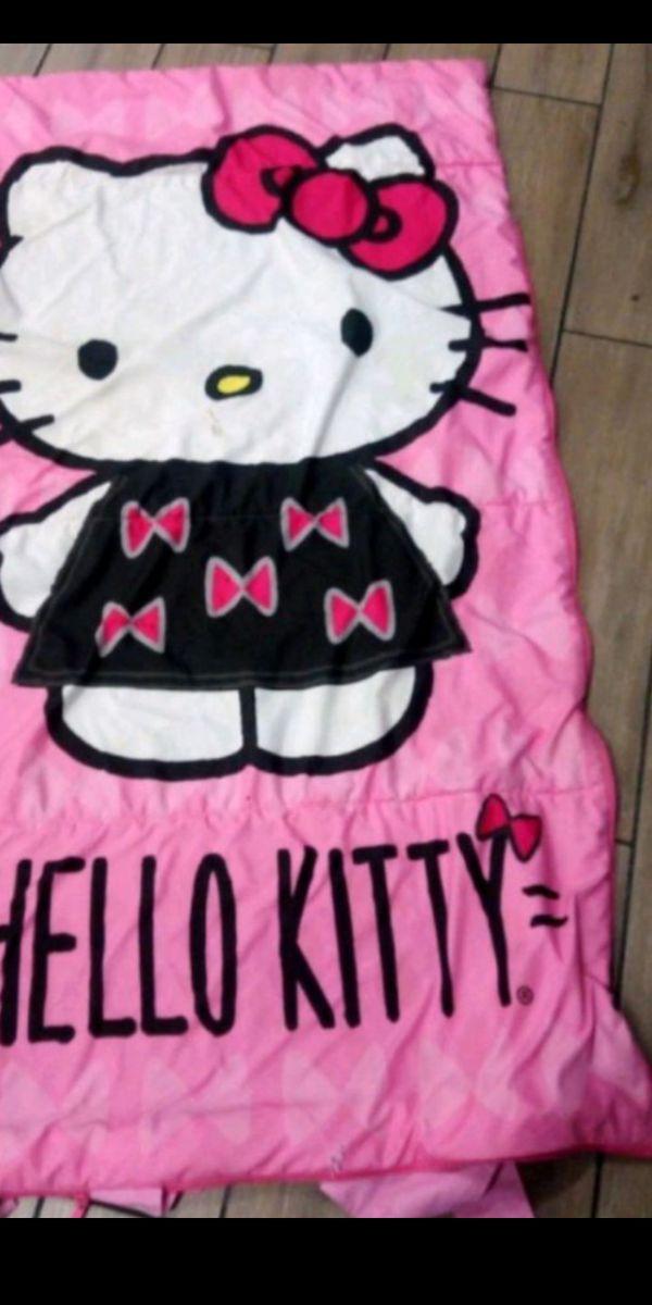 Hello Kitty sleeping bag $10