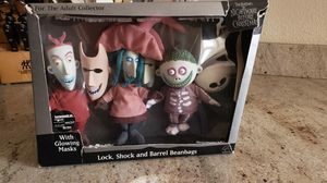 Nightmare before Christmas glow in the dark dolls for Sale in Oldsmar, FL