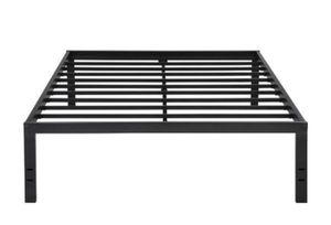 "GranRest 18"" Metal Slat Platform Bed, Twin size black color A4-89 for Sale in St. Louis, MO"