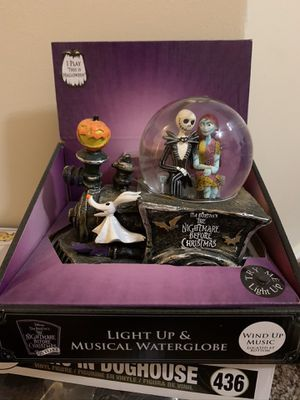 Nightmare Before Christmas Snowglobe Collection for Sale in Goodlettsville, TN
