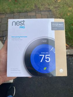Nest learning thermostat for Sale in Elizabeth,  NJ
