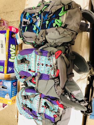 Coleman water backpacks ON SALE ONLY TODAY JUNE 6 $10!!!! for Sale in Las Vegas, NV
