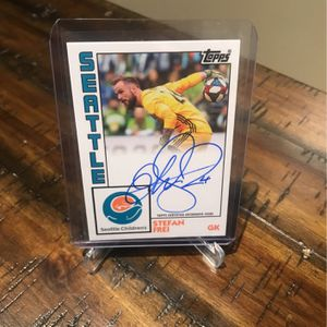 Stefan Frei Autographed/signed Topps Trading Card for Sale in Bothell, WA