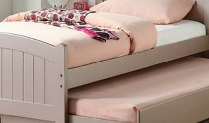 Twin Bed Frame With Trundle for Sale in Whittier,  CA