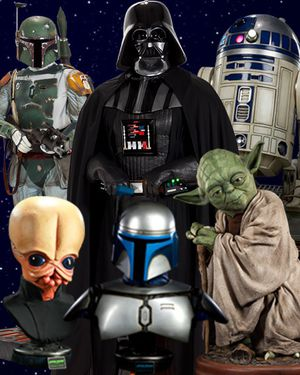 Looking to buy Star Wars Life Size Collectibles - Life Size Bust - Statues - Helmets for Sale in Los Angeles, CA