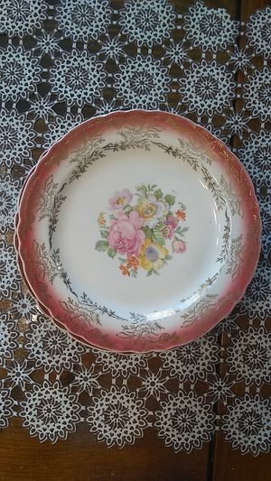 Antique Plates. Slightly over six inches diameter for Sale in Freeland, PA