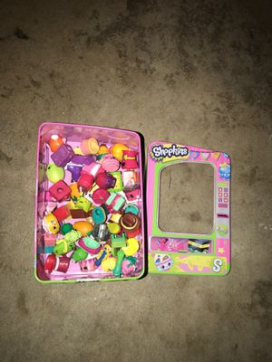 Box of shopkins for Sale in Riverside, CA