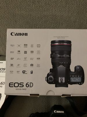 Canon EOS 6D (Like New) purchased w Warranty from BestBuy for Sale in Fairfax, VA