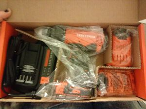 Craftsman V20 1/2 Drill/Driver kit for Sale in Salt Lake City, UT