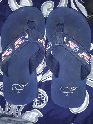Kids sz1 vineyard vines sandals for Sale in San Angelo, TX