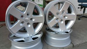 Jeep or dodge charger, chellenger, wrangler etc wheels. for Sale in Fresno, CA