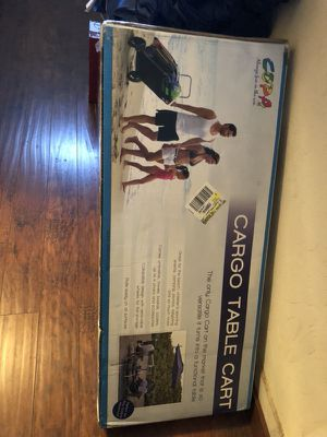Cargo table cart new in box for Sale in Dallas, TX