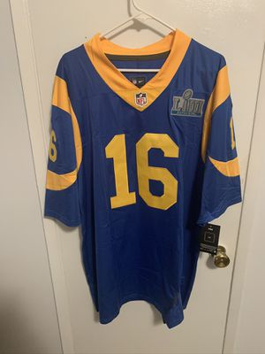Jared Goff #16 blue Los Angeles rams jersey for Sale in Los Angeles, CA