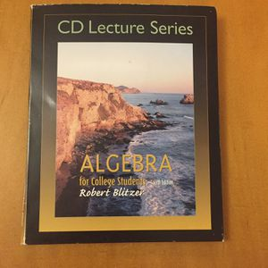 Free Algebra Lecture Series , An Algebra With Basic Math Solutions Manual And A Algebra And Trigonometry Study And Solutions Guide for Sale in Zephyrhills, FL