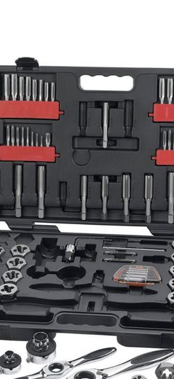 GEARWRENCH Ratcheting Tap and Die Set (114-Piece) new in box for Sale in Bakersfield,  CA