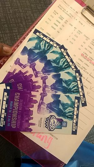 Session 6 Championship Game Tickets for Sale in Charlotte, NC