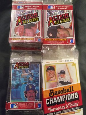 1983-84 85 Donruss baseball cards oversized for Sale in Moreno Valley, CA