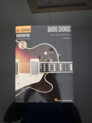 BARRE CHORDS A beginners Guide with 18 Pop & Rock Hits! for Sale in Jupiter, FL