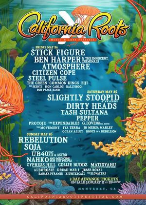 Cali Roots tickets May 2019 for Sale in Colorado Springs, CO