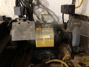 "Ohio Forge 6"" 1/2hp bench grinder for Sale in Missoula, MT"