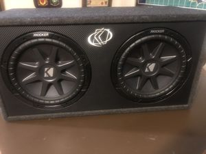 2-12 inch kicker subwoofers for Sale in Silver Spring, MD