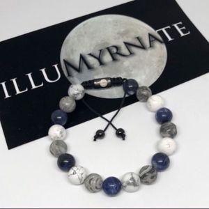Natural Howlite/Jasper Gemstone Bracelet for Sale in Anaheim, CA