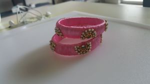 New hand made Silk thread bangles for Sale in Raleigh, NC