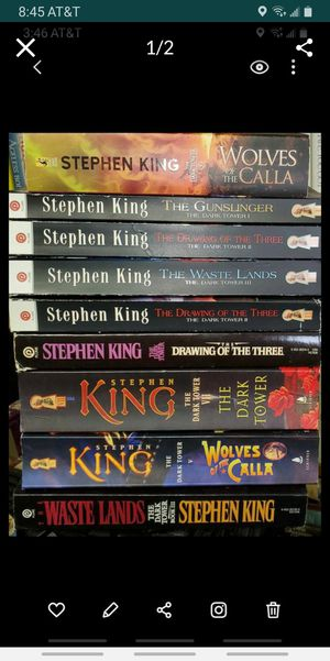 (17) Stephen King paperbacks $6 - $8 each for Sale in Colton, CA