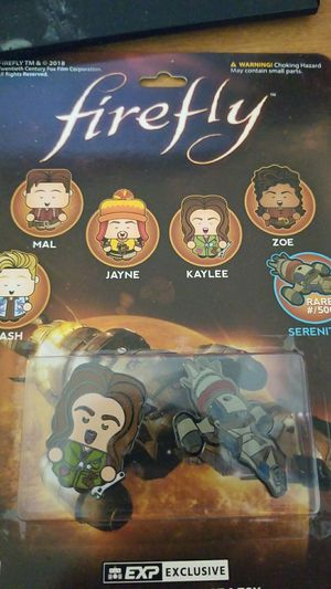 Geek fuel exclusive firefly enamel pin with rare serenity ship included! for Sale in Tacoma, WA