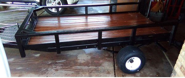 8ft x 4ft Utility Trailer New!