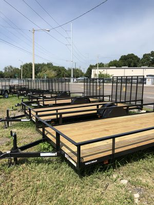 Triple crown utility trailers for Sale in Tampa, FL